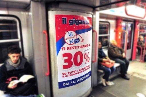 Affissioni pubblicitarie metro, Zetamedia Centro Comunicazione Parma