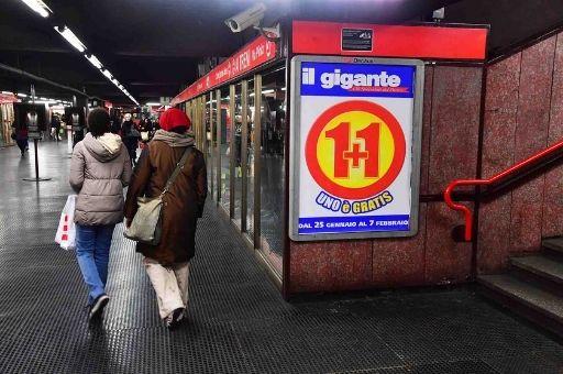 Affissioni pubblicitarie outdoor metropolitana, Zetamedia Centro Comunicazione Parma