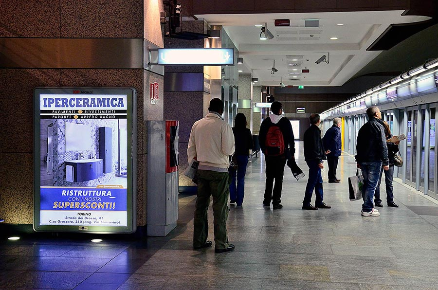 Affissioni pubblicitarie outdoor, Zetamedia Centro Comunicazione Parma